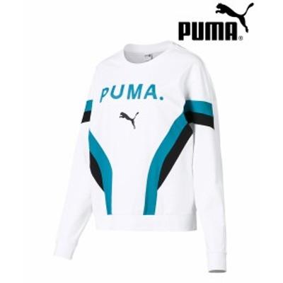プーマ CHASE ウィメンズ LS トップ PUMA レディース トップス トレーナー トップス スウェット ロゴ|579213 正規