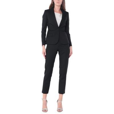 ブライアン デールズ BRIAN DALES レディーススーツ ブラック 40 コットン 80% / レーヨン 18% / ポリウレタン 2% レデ
