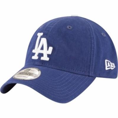 ニューエラ New Era メンズ キャップ 帽子 MLB 9Twenty Core Classic Replica Cap MLB Los Angeles Dodgers Navy Game
