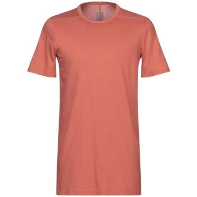 リック オウエンス RICK OWENS T シャツ 赤茶色 S コットン 100% T シャツ