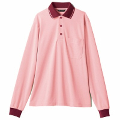 住商モンブラン住商モンブラン ポロシャツ(男女兼用) ピンク/レッド LL 32-5042(直送品)