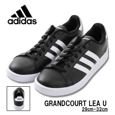 大きいサイズ メンズ adidas(アディダス) スニーカー(GRANDCOURT LEA U) 29cm 30cm 31cm 32cm