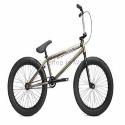 BMX 2019キンクカーブグロスニッケルコンプリートBMXバイク  2019 Kink Curb Gloss Nickel Co