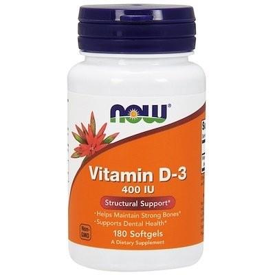 ビタミンD-3,400IU、ソフトジェル180錠