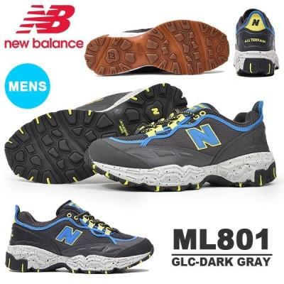 スニーカー ニューバランス new balance ML801 メンズ スタイル シューズ 靴 GLC 灰色