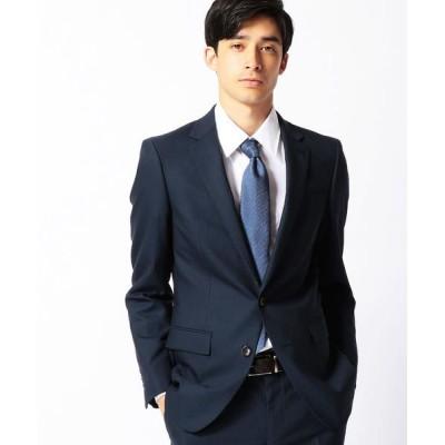 COMME CA MEN/コムサ・メン ピンストライプスーツ ネイビー XL