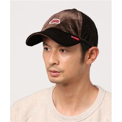 atmos / ROUND HOUSE  VELOURS BB CAP MEN 帽子 > キャップ