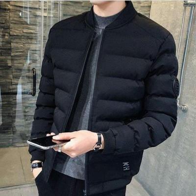 ダウンコート メンズ ショート丈 ダウンジャケット 無地 中綿ジャケット 大きいサイズ 防寒 防風 高品質 暖かい オフィス 通勤 2020秋冬新作