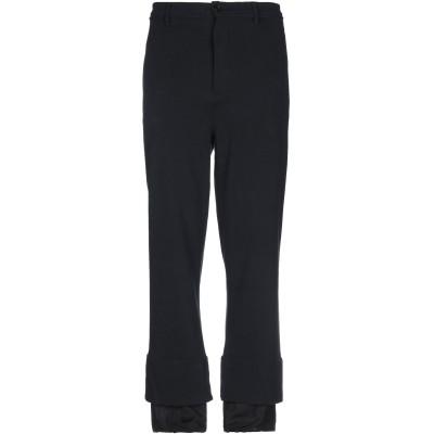 アン ドゥムルメステール ANN DEMEULEMEESTER パンツ ブラック S コットン 100% / レーヨン パンツ