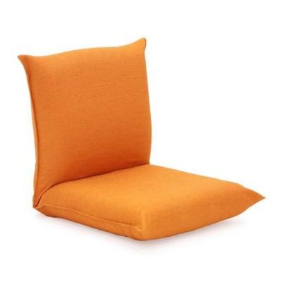 コンパクト座椅子2(産学連携シリーズ)/オレンジ