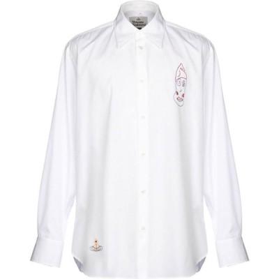 ヴィヴィアン ウエストウッド VIVIENNE WESTWOOD メンズ シャツ トップス Solid Color Shirt White