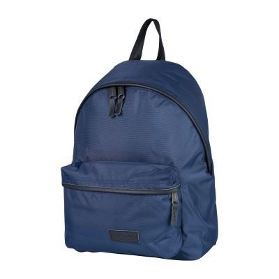 イーストパック EASTPAK バックパック&ヒップバッグ ブルー 紡績繊維 / 革 バックパック&ヒップバッグ