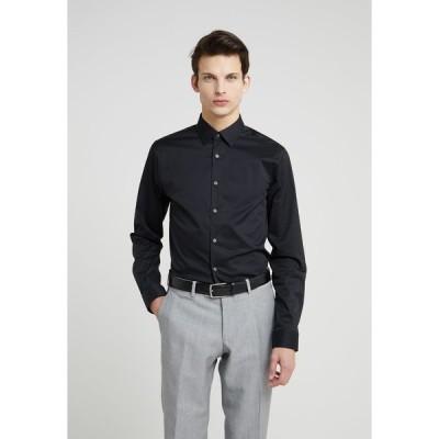 タイガー オブ スウェーデン シャツ メンズ トップス FILBRODIE EXTRA SLIM FIT - Formal shirt - black
