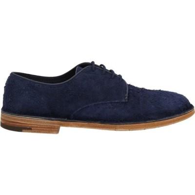 プレミアータ PREMIATA メンズ シューズ・靴 laced shoes Dark blue