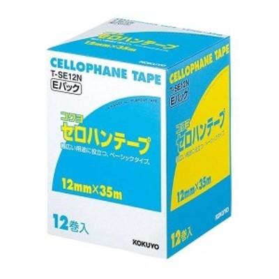 コクヨ EBM-8616800 セロハンテープ T-SE12N(12巻入) (EBM8616800)