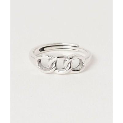 指輪 【SBLT】【サイズ調整可能】シルバー925 ユニセックス変形デザインリング / blat-r-2