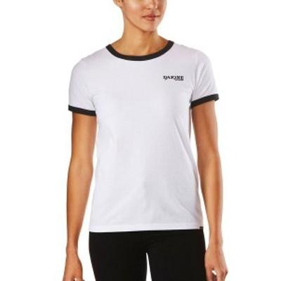 ダカイン レディース Tシャツ トップス Stevie Ringer T-Shirt White/Black
