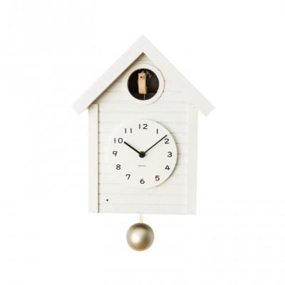 CHAMBRE CUCKOO CLOCK 掛け時計 WHITE CH-059WH