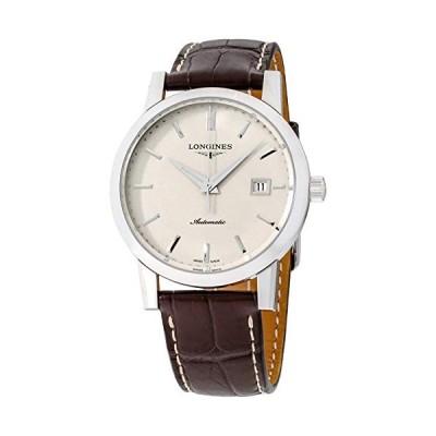 Longines 1832 Beige Dial Leather Strap Men's Watch L48254922 並行輸入品