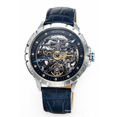 ゾンネ 時計 SONNE メンズ 腕時計 ゾンネ×ハオリ 岩城滉一 コラボレーションモデル H023SS-NV
