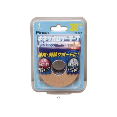 インプラス IMPLUS B.PキネシオロジーテープFREX38MM/セット販売 数量6 3376 ボディケアテーピング