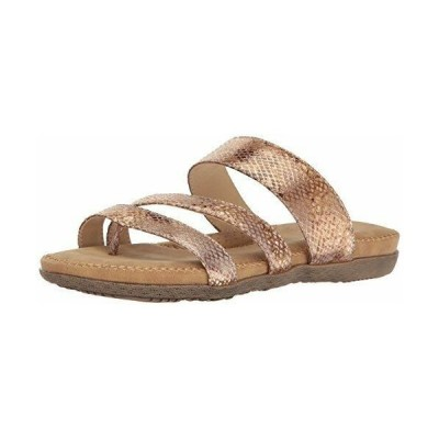 サンダル インポートブランド レディース VOLATILE Women's Sheyla Flat Sandal, Gold, 7 B US