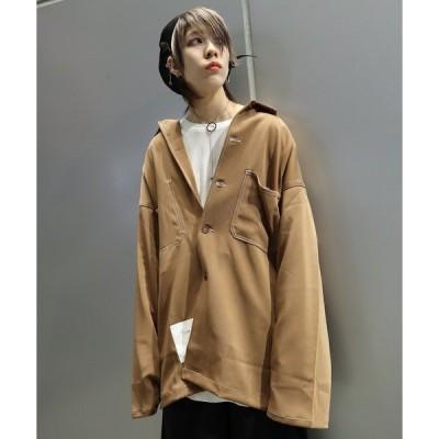 シャツ ブラウス 【ビッグシルエット】 2020 AFYF SSJKT SHIRT/ジャケットシャツ