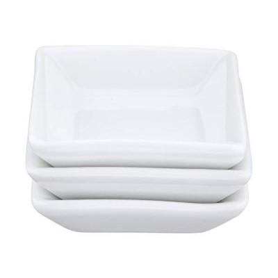 極 角型ミニプレート(白) 3枚セット 042-705-02C