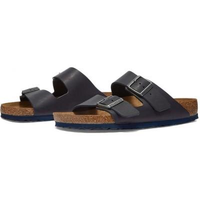 ビルケンシュトック Birkenstock メンズ サンダル シューズ・靴 arizona Natura Navy Smooth Leather