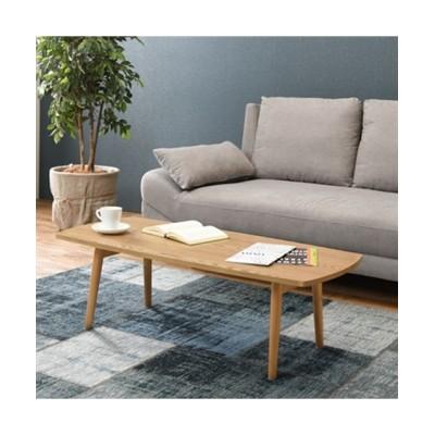 木目が美しい天然木突板の折りたたみテーブル(スクエア) ローテーブル・リビングテーブル, Tables(ニッセン、nissen)