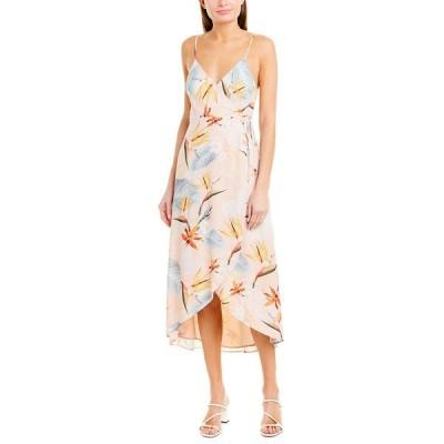 ウミーユアムーム ワンピース トップス レディース Show Me Your Mumu Meghan Wrap Dress paradise party
