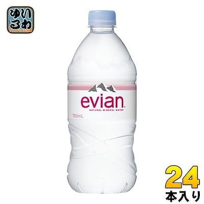 エビアン 750ml ペットボトル 24本 (12本入2 まとめ買い)