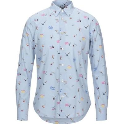 ポールスミス PAUL SMITH メンズ シャツ トップス Patterned Shirt Sky blue