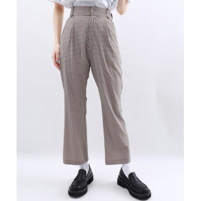 WEGO / WC/ギンガムチェックパンツ WOMEN パンツ > スラックス