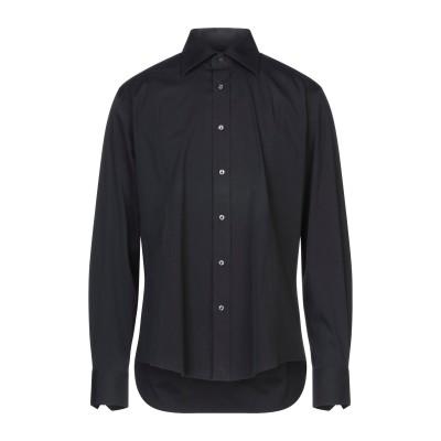 ブライアン デールズ BRIAN DALES シャツ ブラック 42 コットン 80% / ナイロン 15% / ポリウレタン 5% シャツ