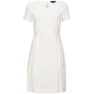 ANTONELLI ミニワンピース&ドレス アイボリー 40 コットン 94% / ポリウレタン 6% ミニワンピース&ドレス