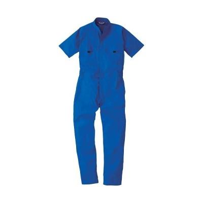 桑和(SOWA) 半袖 続服 8/ブルー S〜LLサイズ 9007 作業着 作業服 ワークウェア ウエア つなぎ メンズ レディース