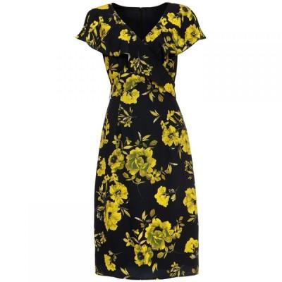 フェイズ エイト Phase Eight レディース パーティードレス ワンピース・ドレス Heidi Floral Dress Black