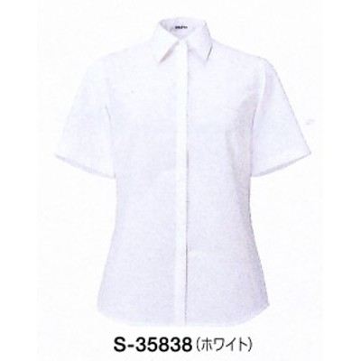S-35838 半袖ブラウス ホワイト 全1色 (セロリー SELERY クレッセ 事務服 制服)
