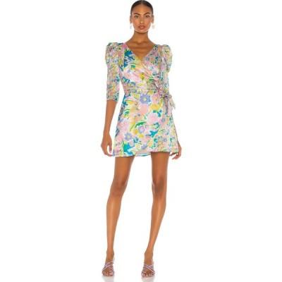 オリビアルービン Olivia Rubin レディース ワンピース ワンピース・ドレス Ren Dress Neon Floral