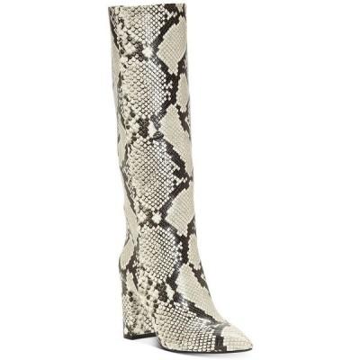 アイエヌシーインターナショナルコンセプト ブーツ&レインブーツ シューズ レディース INC Paiton Block-Heel Boots,  Natural Snake