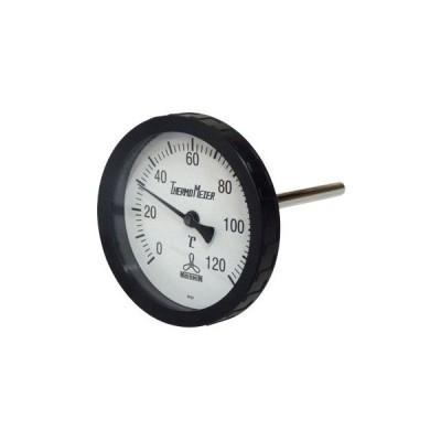 バイメタル温度計(裏型) 日新計器 NBT-WT 100*120℃*100L