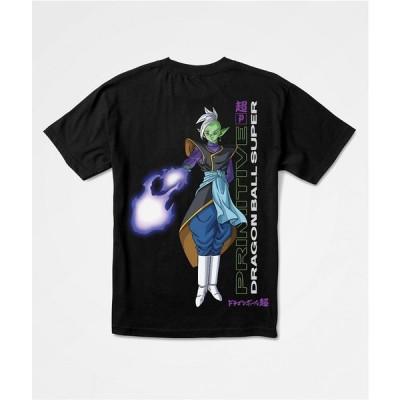 プリミティブ PRIMITIVE メンズ Tシャツ トップス Primitive x Dragon Ball Super Zamasu Black T-Shirt Black