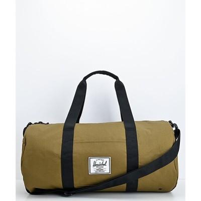 ハーシェル サプライ HERSCHEL SUPPLY レディース ボストンバッグ・ダッフルバッグ バッグ co. sutton mid-volume khaki green duffle bag Green