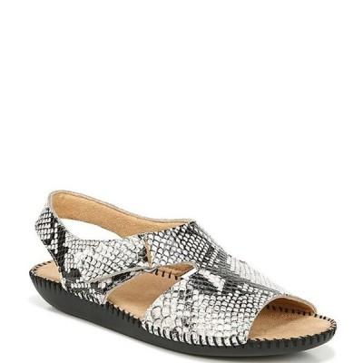 ナチュライザー レディース サンダル シューズ Scout Snake Print Leather Banded Sandals