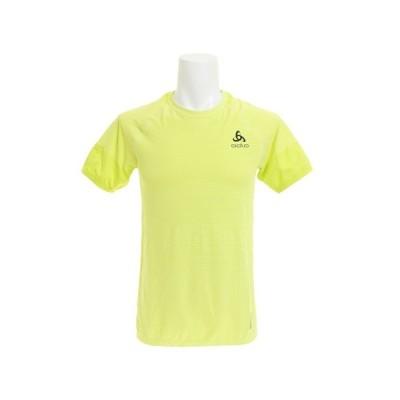 オドロ(ODLO) 【多少の傷汚れありの為大奉仕】Tシャツ メンズ BL TOP Crew neck 半袖Tシャツ 350112 acid lime オンライン価格 (メンズ)