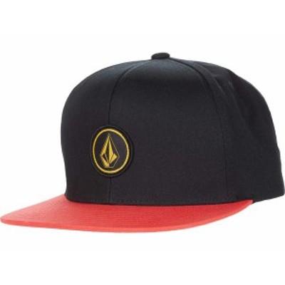 ボルコム メンズ 帽子 アクセサリー Quarter Twill Flame Red