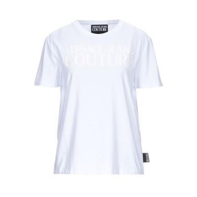 VERSACE JEANS COUTURE T シャツ ホワイト XXS コットン 100% T シャツ