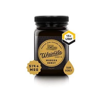 (Waimete Honey) (ワイメテハニー) マヌカハニーUMF15+ MGO514+ (500g)