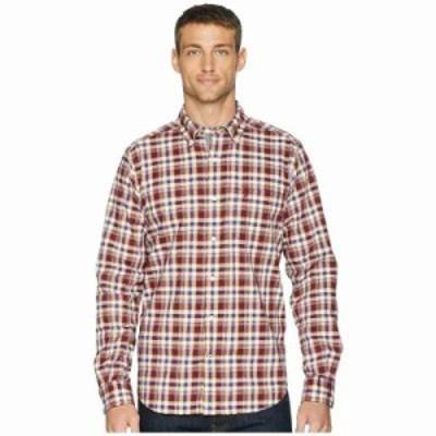ノーティカ シャツ Long Sleeve Layer Up Plaid Woven Shirt Zinfandel